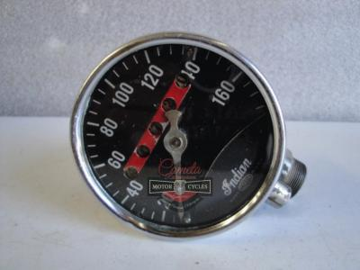 CORBIN SPEEDOMETER INDIAN CHIEF SPORT SCOUT OTRAS  AÑOS   1940 A 1946 ORIGINAL
