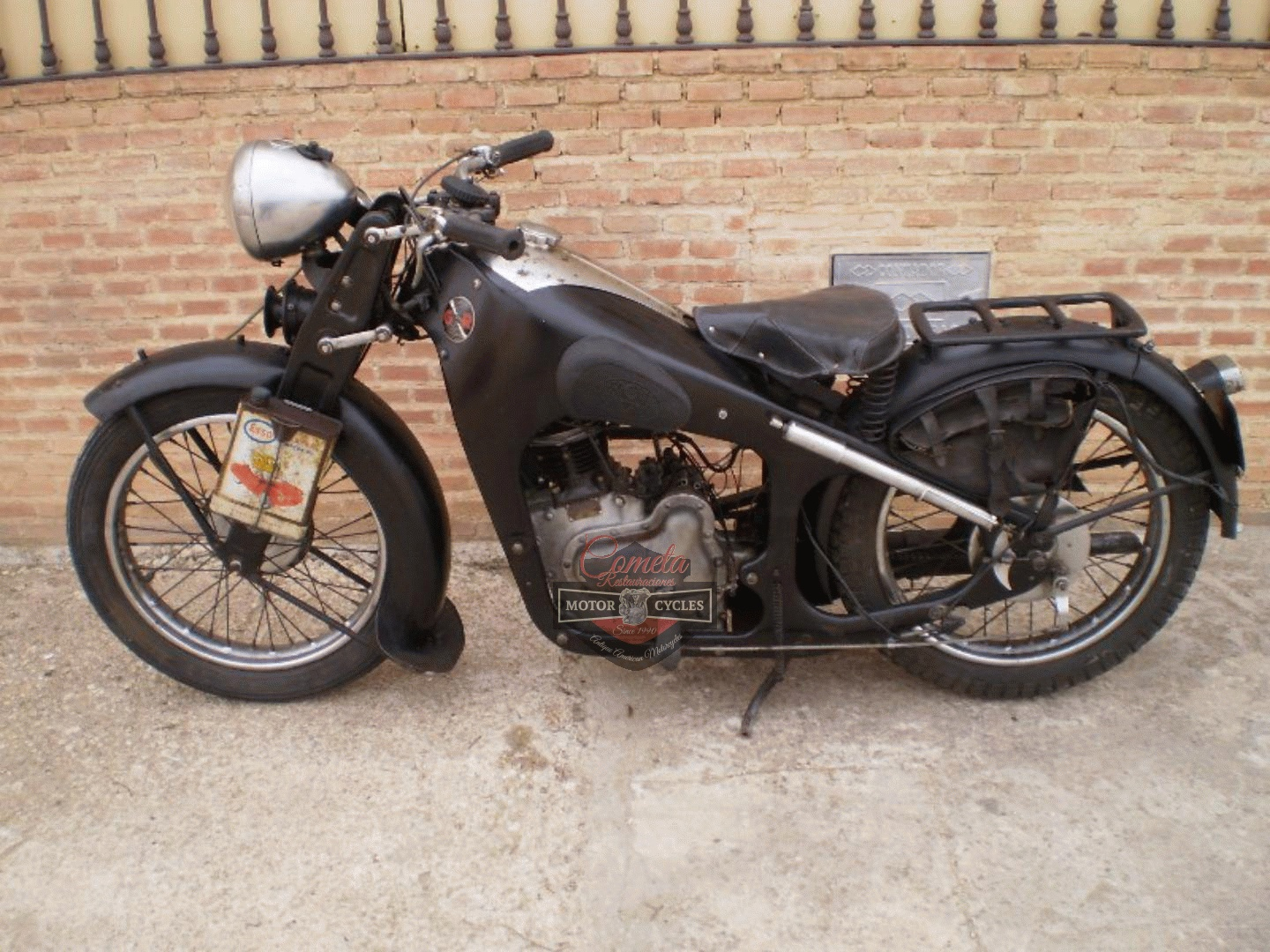 GNOME RHONE SUPER MAJOR SPORT 350 OHV AÑO 1935 ORIGINAL CONDICION !