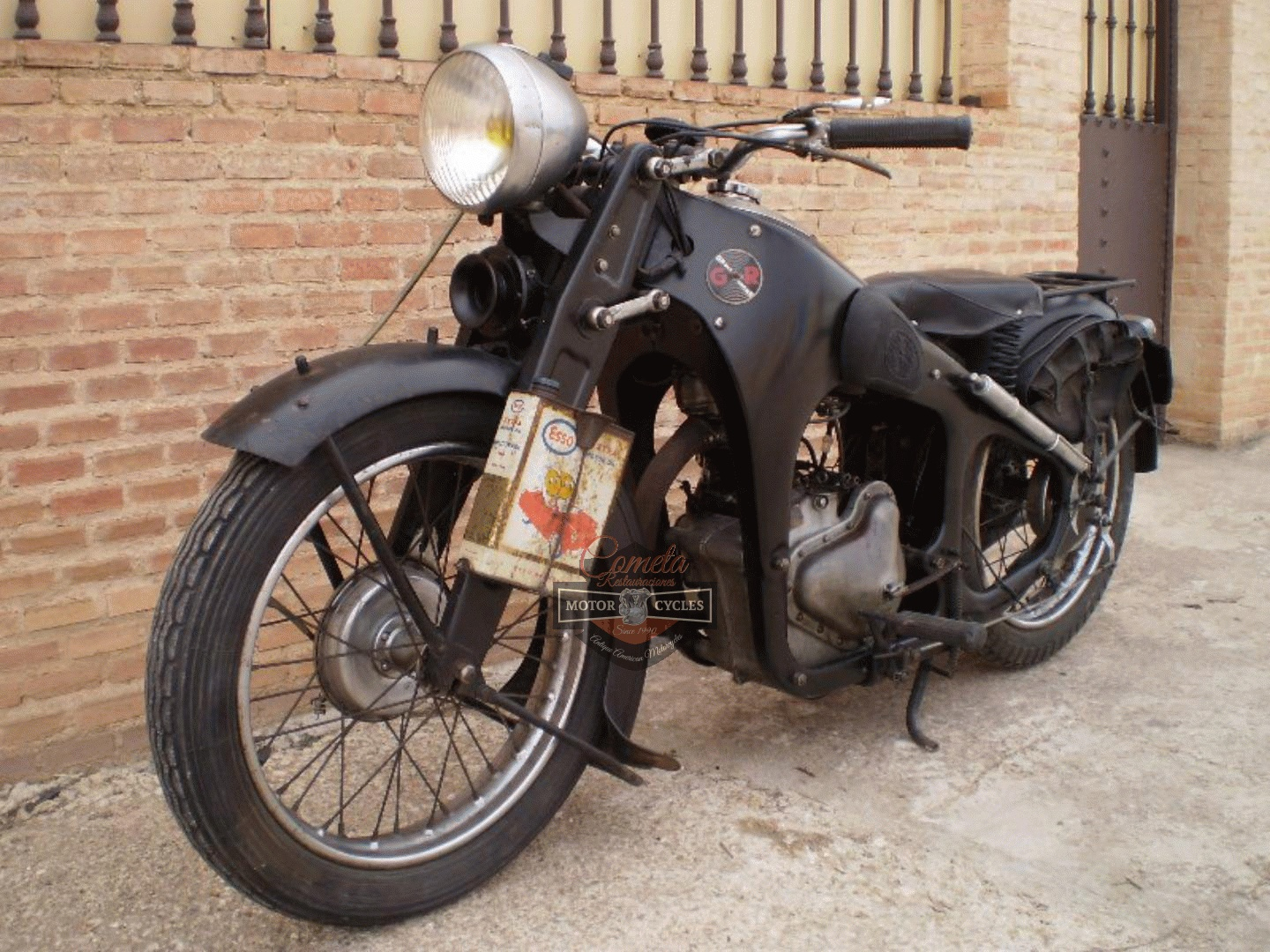 GNOME RHONE SUPER MAJOR SPORT 350 OHV AÑO 1935 ORIGINAL CONDICION