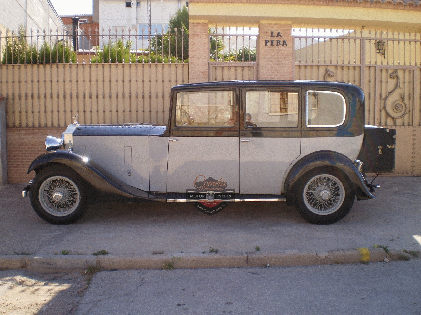 ROLLS ROYCE 20/25 LIMOUSINA  HOOPER AÑO 1933 6 CILINDROS !
