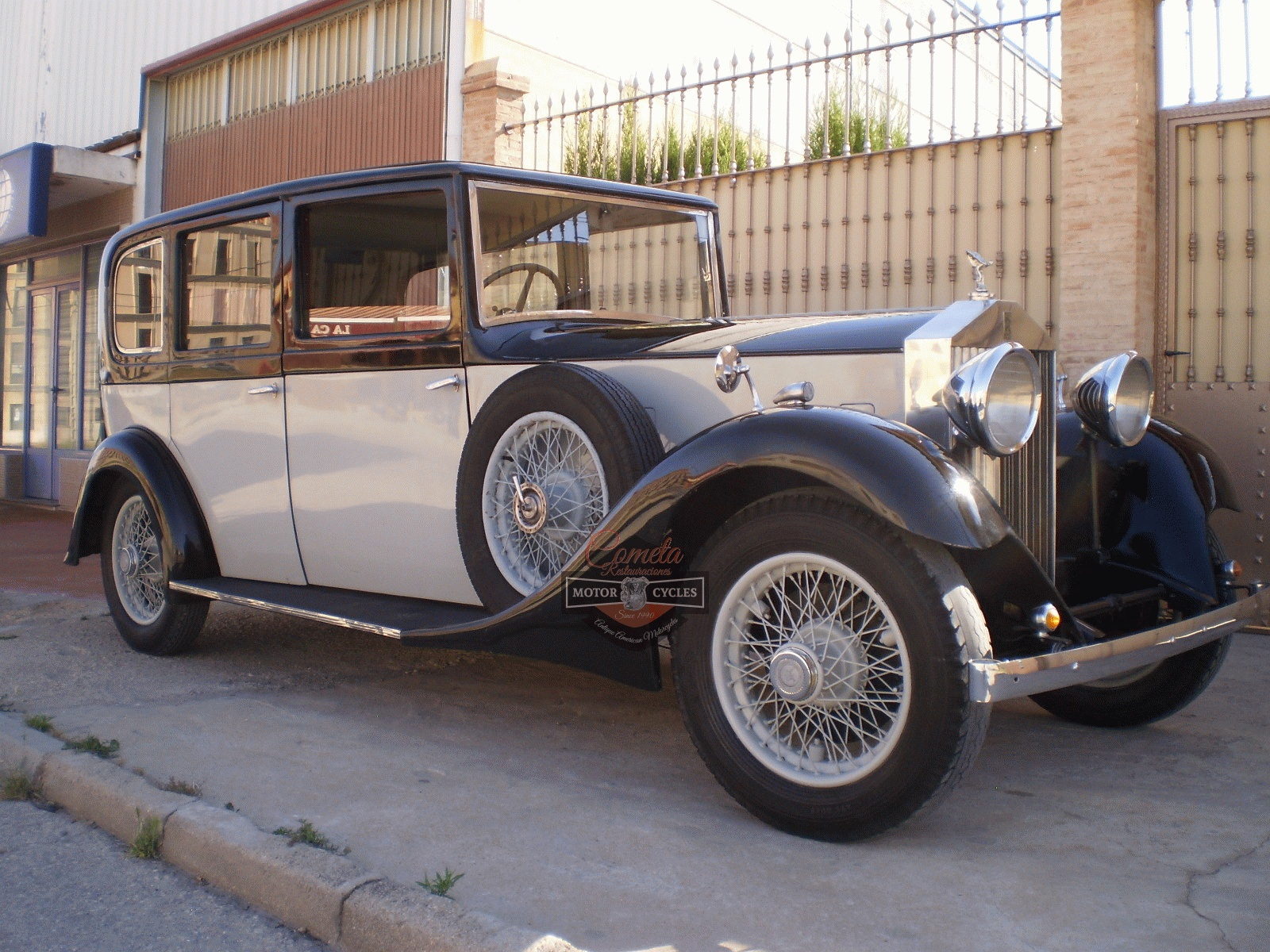 ROLLS ROYCE 20/25 LIMOUSINA  HOOPER AÑO 1933 6 CILINDROS