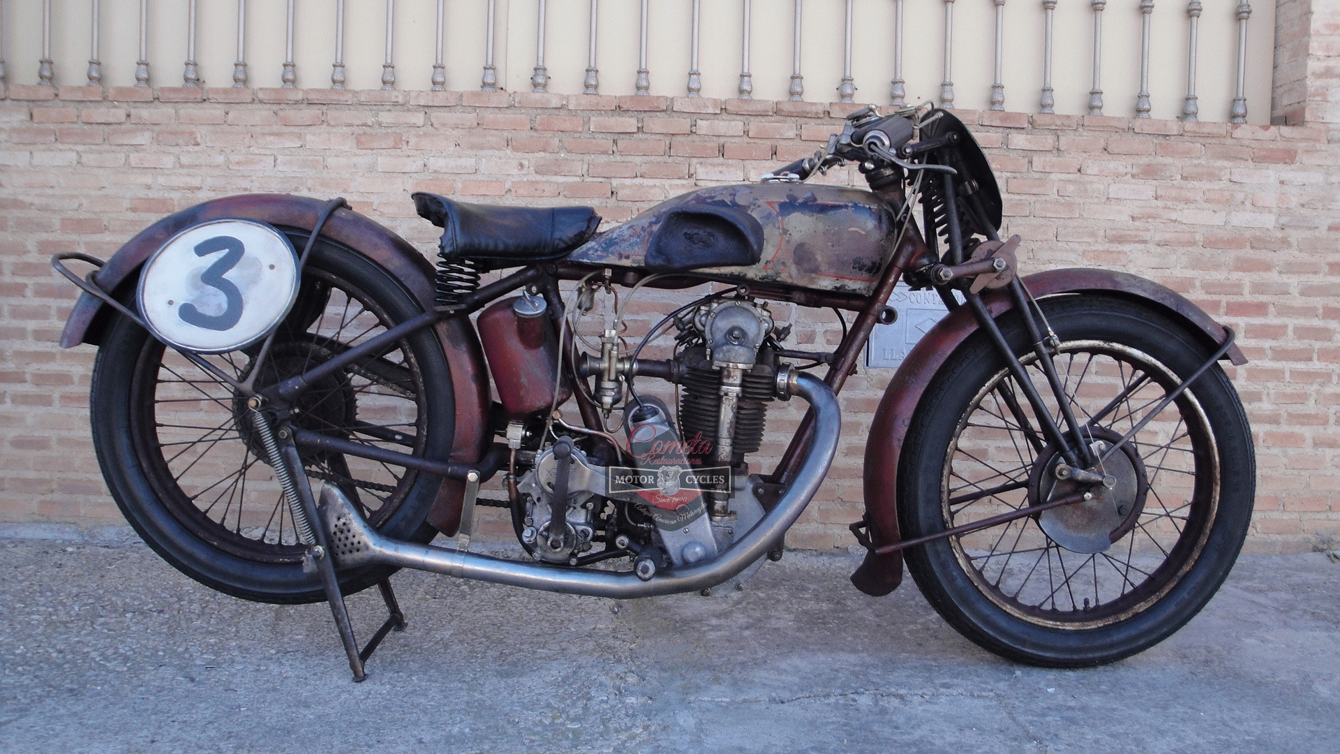 VELOCETTE KN SS 350cc OHC RACER AÑO 1929 !