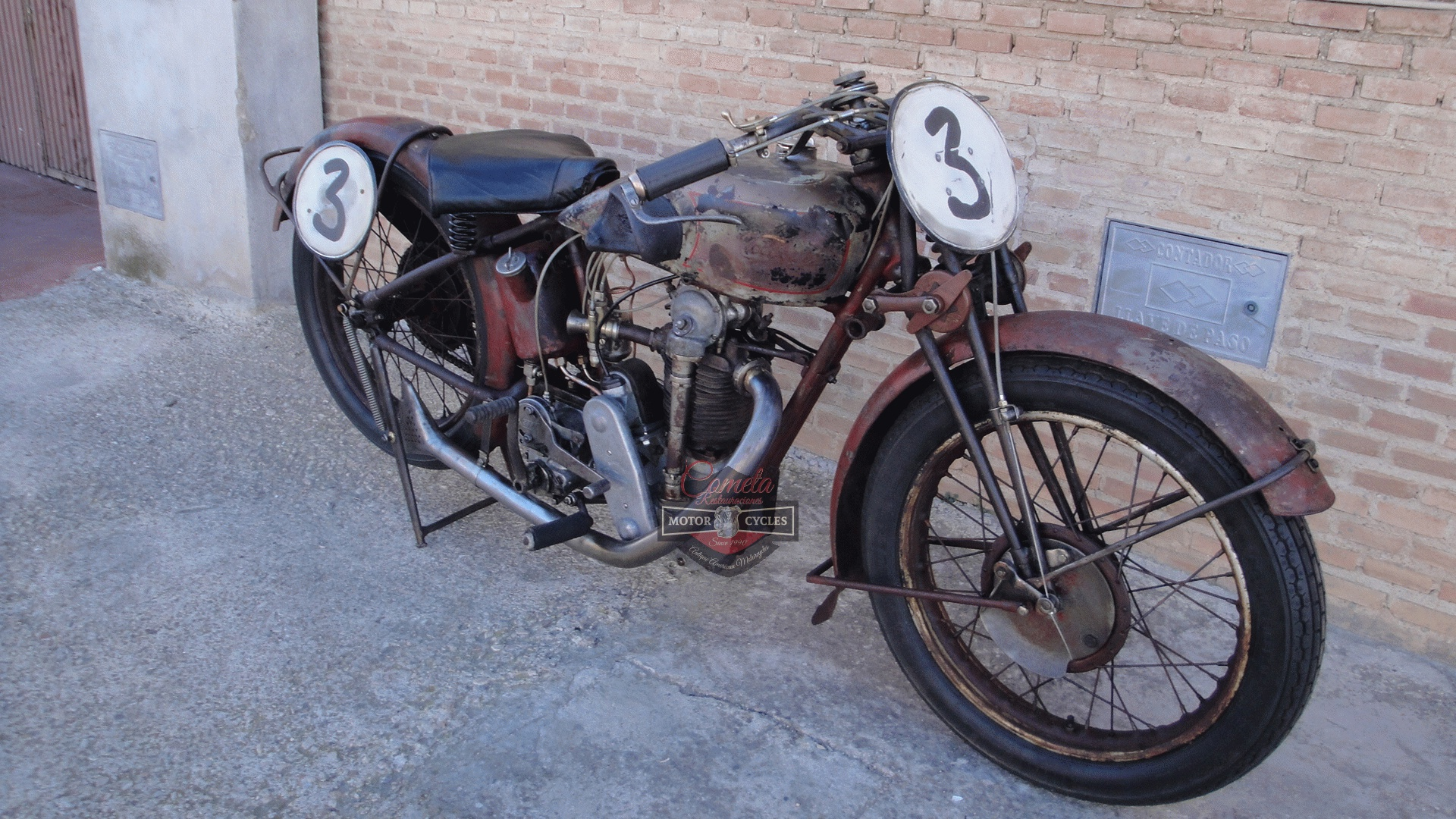 VELOCETTE KN SS 350cc OHC RACER AÑO 1929
