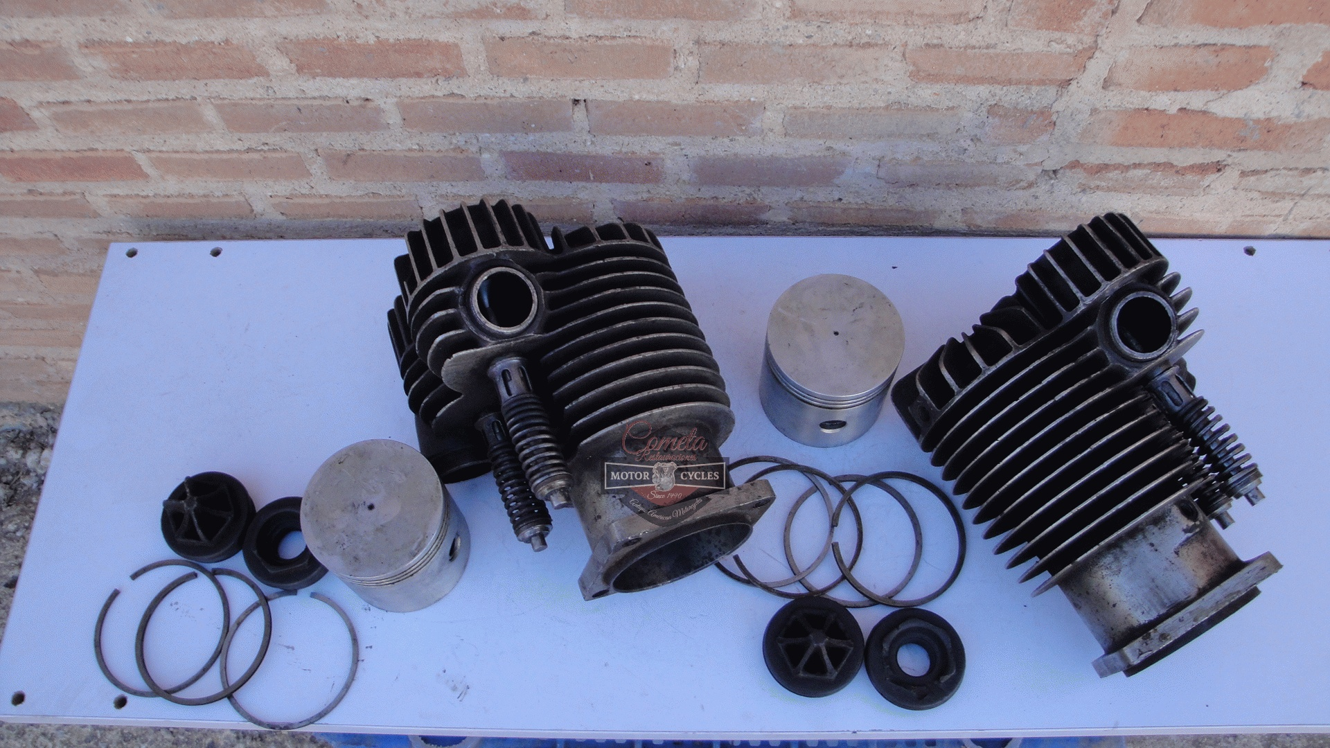 INDIAN POWERPLUS /  INDIAN DAYTONA RACER / BOARD TRACK RACER  CYLINDERS  BIG VALVE 1200cc 1919 a 1922