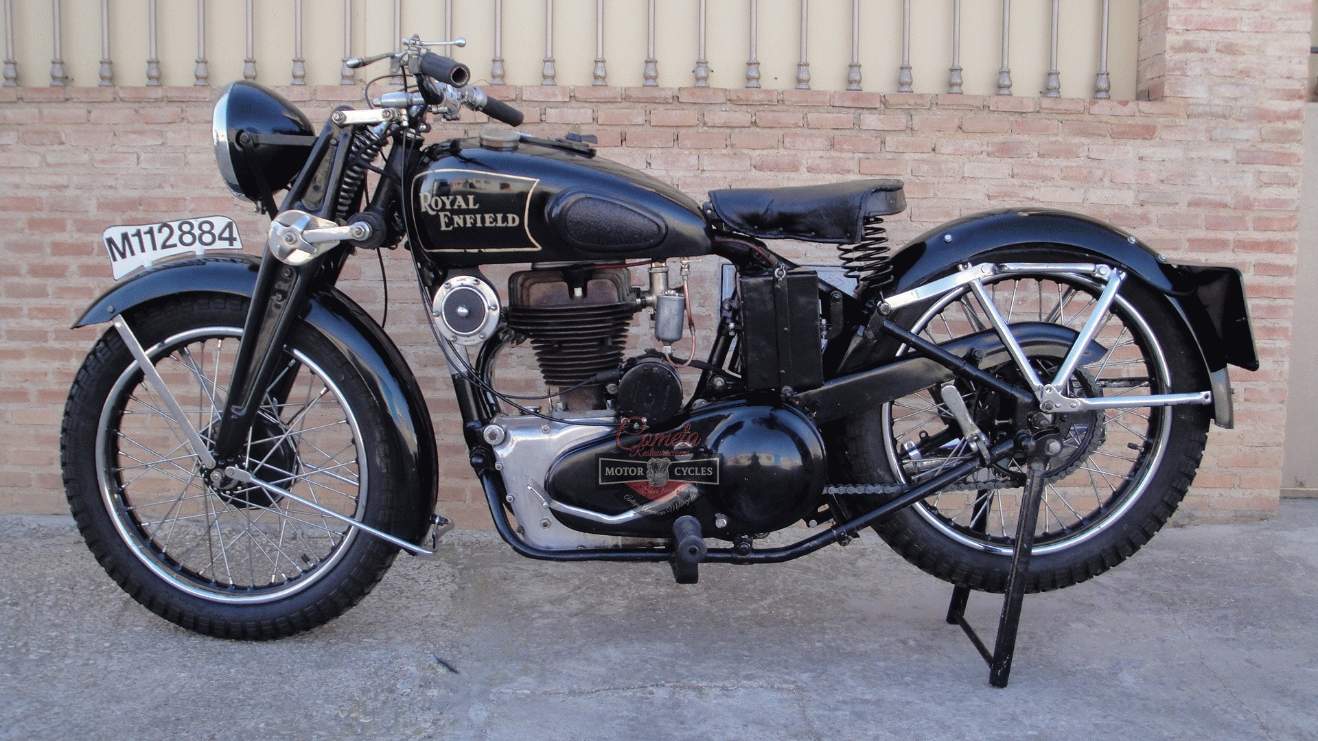 ROYAL ENFIELD J 500 OHV AÑO 1936  CON SIDECAR !