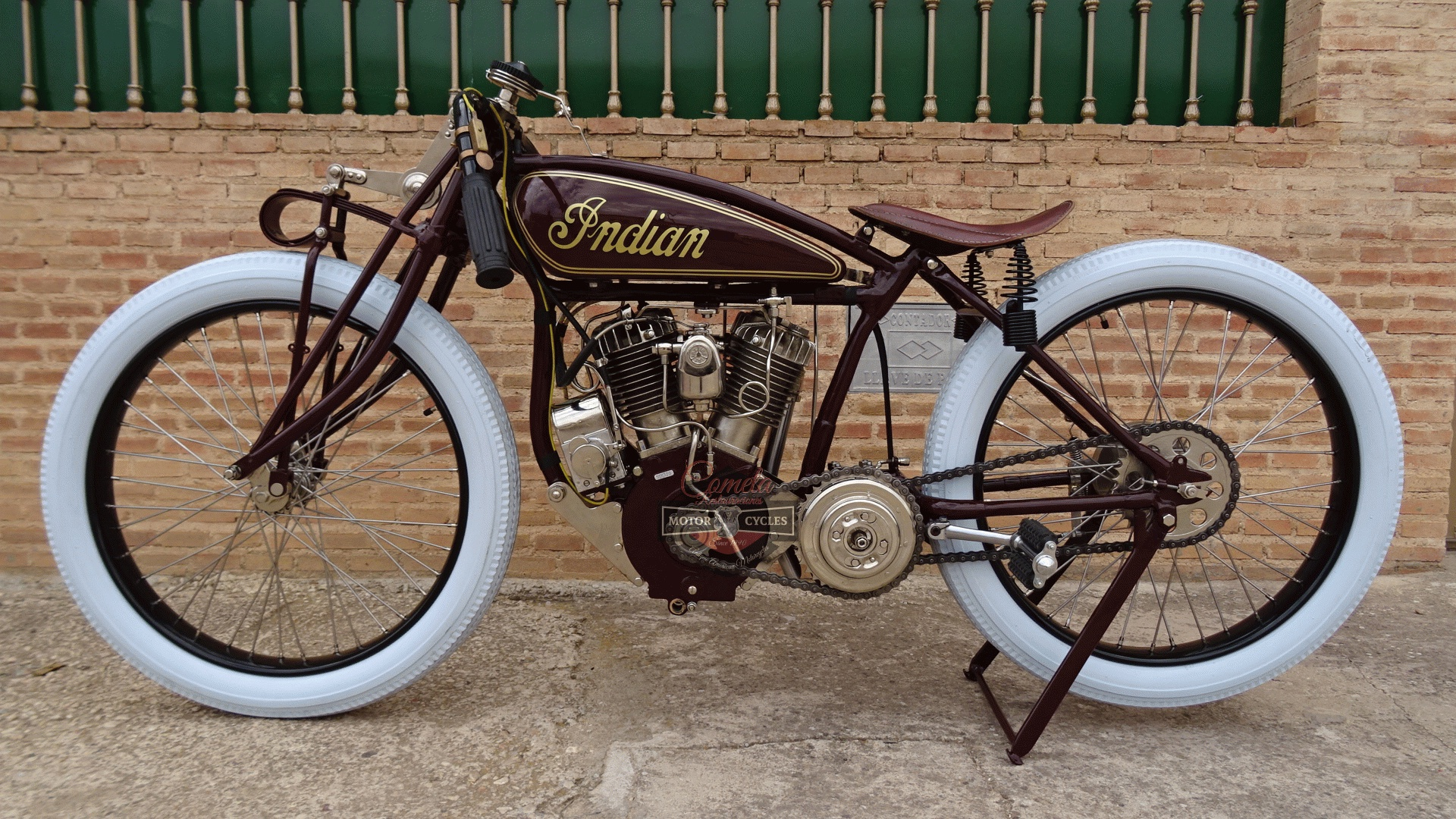 INDIAN POWERPLUS TT RACER AÑO 1920 1000cc!