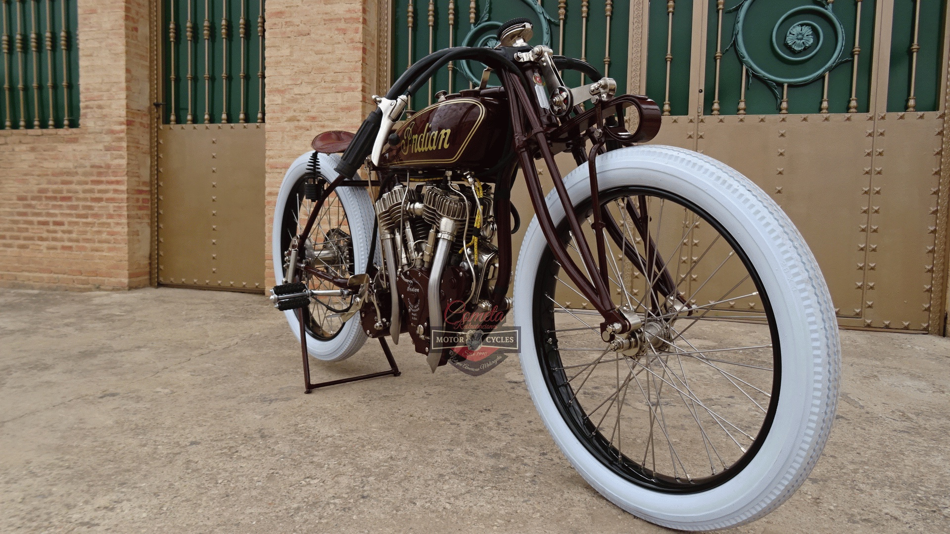 INDIAN POWERPLUS TT RACER AÑO 1920 1000cc