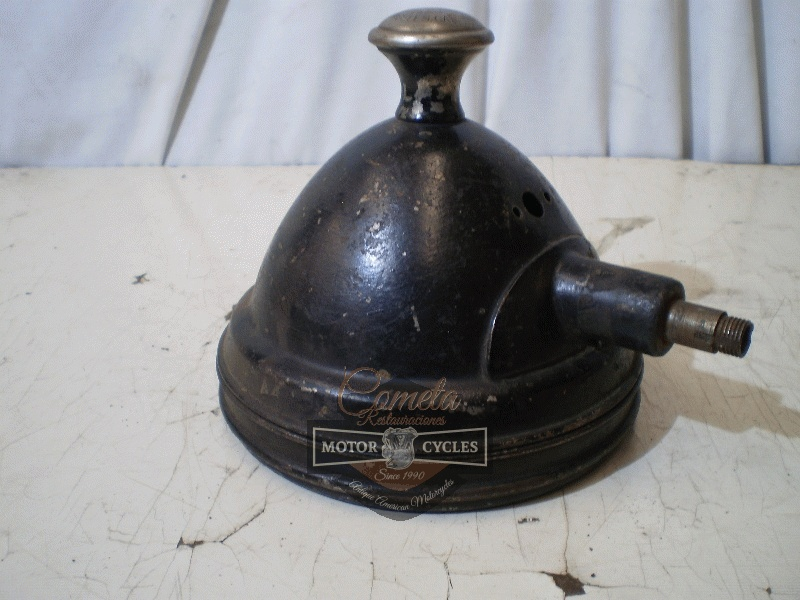 FARO S&M LAMP CO. LOS ANGELES MADE IN USA HENDERSON EXCELSIOR 1918 A 1925